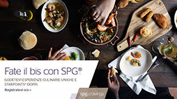 Tavolo SPG Cravings Fate il Bis con SPG Four Points by Sheraton Milano